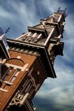 Victorian mansion. Tower of an old victorian mansion Royalty Free Stock Photo