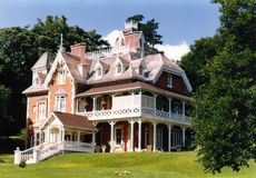 Victorian Mansion. Built by a wealthy railway owner during in the 1860s Royalty Free Stock Photography