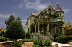 Victorian Mansion. Restored Virginia Victorian mansion in Virginia Stock Photo