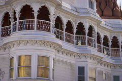 Victorian mansion in San Francisco, California Royalty Free Stock Photo