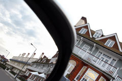Victorian marine hotel mirror view Royalty Free Stock Photography