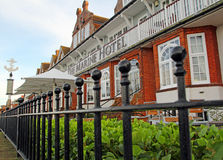 Victorian marine hotel royalty free stock image