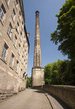 Victorian mill chimney Stock Image