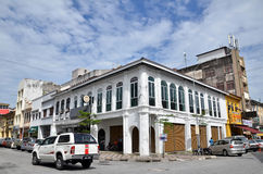 Victorian Neo-Renaissance heritage building in Ipoh at Belfield Royalty Free Stock Image