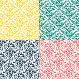 Victorian ornament, seamless pattern Royalty Free Stock Photo