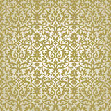 Victorian ornament. Seamless pattern, gold pattern Royalty Free Stock Images