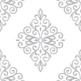 Victorian ornament seamless pattern. Victorian ornament seamless vector pattern Stock Images