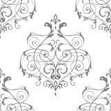 Victorian ornament seamless pattern. Victorian ornament seamless vector pattern Stock Image