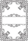 Victorian Ornate Art Page Royalty Free Stock Images