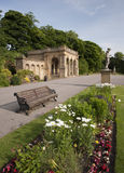 Victorian park structures Stock Image