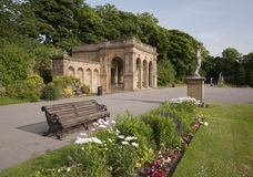 Victorian park structures Royalty Free Stock Photo