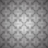 Victorian pattern. On a black background Stock Photo