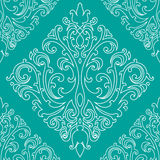 Victorian pattern. Victorian  seamless pattern, vector image Stock Images