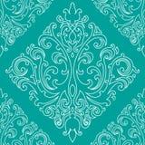 Victorian pattern. Victorian seamless pattern, vector image Vector Illustration