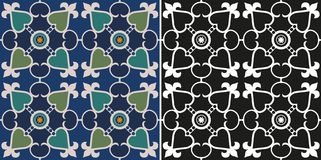 Victorian pattern Stock Photography