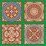Victorian Patterns Set One Royalty Free Stock Photography