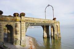 Victorian pier in Friedrichshafen Stock Images