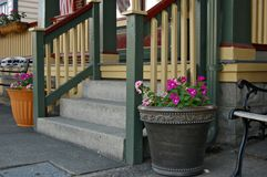 Victorian porch Royalty Free Stock Photography