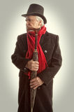 Victorian Portrait Senior Man Royalty Free Stock Photography