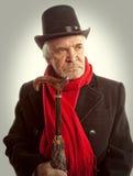 Victorian Portrait Senior Man Stock Image