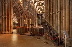 Victorian Pulpit Lichfield Cathedral Stock Photo