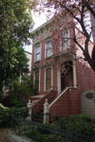 Victorian residential building in San Francisco. One of the classic victorian houses in San Francisco Stock Photo