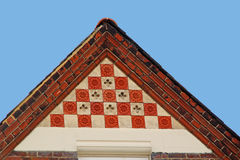 Victorian roof tiles Royalty Free Stock Images