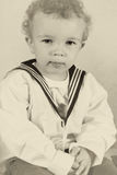 Victorian sailor boy Royalty Free Stock Photo