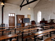 A Victorian Schoolroom, UK Royalty Free Stock Photos