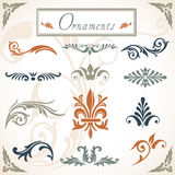 Victorian Scroll Ornaments Stock Image