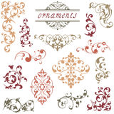 Victorian Scroll Ornaments Stock Photos