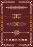 Victorian scrolls Stock Photos