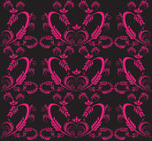 Victorian seamless background. The vector illustration contains the image of victorian seamless background Royalty Free Stock Images
