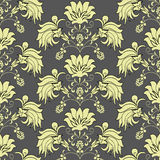 Victorian seamless pattern Royalty Free Stock Photography