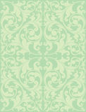 Victorian seamless pattern. Pastel color seamless floral vector background Royalty Free Stock Photos