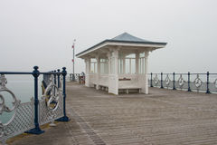 A victorian seaside pier at Swanage in Dorset Stock Image