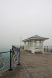 A victorian seaside pier at Swanage in Dorset Royalty Free Stock Image