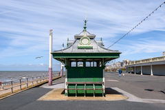 Victorian Shelters Blackpool, Uk Stock Photo
