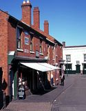 Victorian shopping street, Dudley. Royalty Free Stock Image