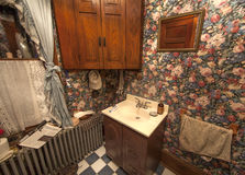 Victorian small bathroom Stock Photo