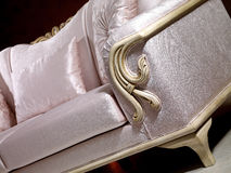 Victorian Sofa. Classical victorian style furniture detail Stock Photos