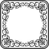 Victorian Square Frame Stock Image