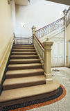 Victorian staircase Royalty Free Stock Photos