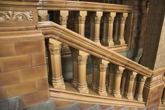 Victorian Staircase Royalty Free Stock Image
