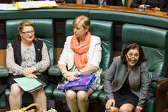 Victorian State Parliament - Question Time February 9, 2016 Royalty Free Stock Photos