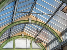 Victorian Station Roof Stock Photos