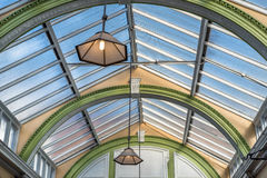 Victorian Station Roof Royalty Free Stock Photography