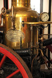 Victorian steam fire pump royalty free stock photography