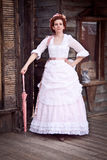 Victorian Steampunk Woman Stock Image