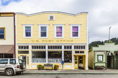 Victorian storefronts in Ferndale, USA Stock Image